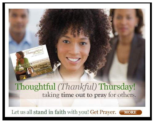 Thoughtful (Thankful) Thursday
