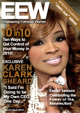 Karen Clark Sheard featured in EEW Magazine